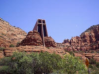 Chapel of the Holy Cross in Arizona © Brian Anderson